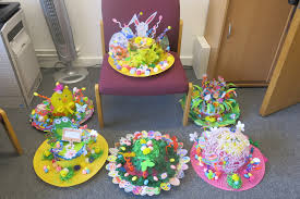 Chart House Easter Easter Bonnets Great Chart Primary School
