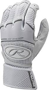 Rawlings Workhorse <b>Adult</b> Batting Gloves with Compression Strap ...