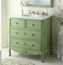 bathroom vanities vintage style. Distress Green Daleville Bathroom Sink Vanity \u2014 Dimensions: 34 X 21 H The Vintage-style With Intricately Carved Details Give This A Vanities Vintage Style