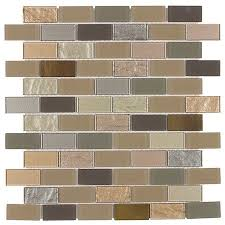 Installing Glass Mosaic Tile Backsplash Fascinating Peel Stick Glass Mosaic Tile Venice Mineral Tiles