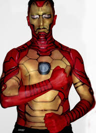 makeup artist undergoes incredible transformations into disney characters iron man