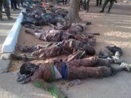 Image result for هلاکت تروریست بوکوحرام