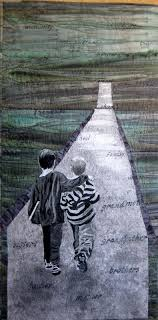 155 best pictorial quilts images on Pinterest | Quilt art, Textile ... & The Long Road by Kathleen Burford Merit. 2012 Challenge, Aotearoa Quilters  (New Zealand. African QuiltsLandscape Art ... Adamdwight.com