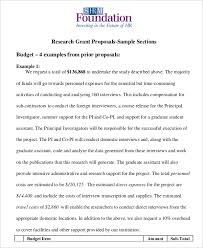 18 Simple Grant Proposal Templates Word Pdf Pages