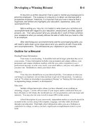Skills And Accomplishments Resume Examples | Resume CV Cover Letter