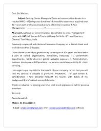 Insurance Coordinator Resume Cool CV With Covering Letter Senior Insurance Coordinator444444