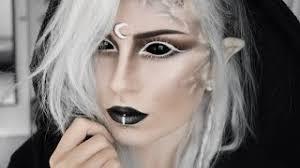 demon moon elf makeup tutorial