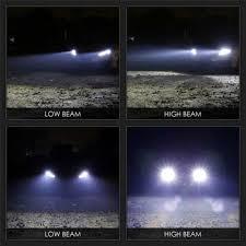<b>H7 120W</b> 12000LM <b>LED</b> Headlight Kit High Beam Light Bulbs White ...