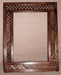 wood mirror frame. Wooden Mirror Frame Wood