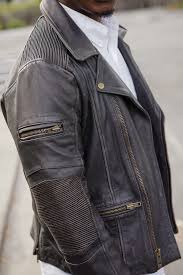 dapper advisor wilsons leather vintage asymmetrical leather jacket