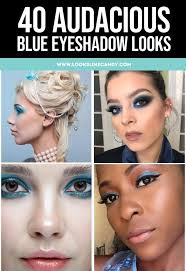 40 audacious blue eyeshadow looks