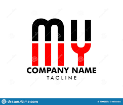 Design My Company Logo Free Initial Letter My Logo Template Design Stock Vector