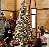 2019 cute angel christmas tree