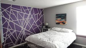 easy wall painting ideas tape paint artwork