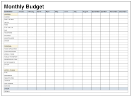 Monthly Personal Budget Spreadsheet 002 Monthly Household Budget Worksheet Printable Template