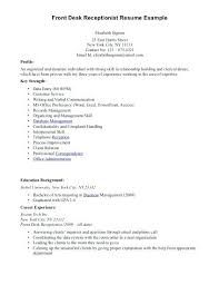 objective on resume for receptionist receptionist objective resume prepasaintdenis com
