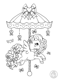 Small Picture Ponies Pony Coloring Pages YamPuffs Stuff
