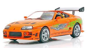 toyota supra fast and furious green. toyota supra mkiv 1995 from the fast and furious in orange green r