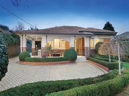 Small Picture cool Brick californian bungalow house exterior with porch and