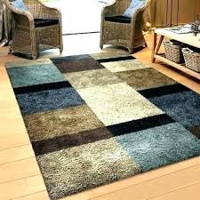 brown rugs for living room les italiaorg blue and brown area rug blue brown white area