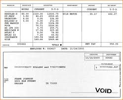 Sample Paycheck Stub Pdf New Sample Pay Stub Template 24