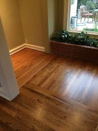 early american stain on red oak red oak sand refinish with early american stain and satin finish floors red oak early american and