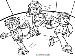 This page will surely get your child excited for sledding. Free Printable Winter Coloring Pages For Kids Crafty Morning