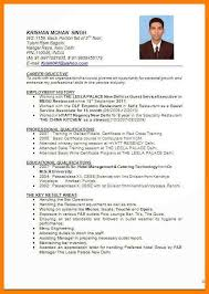 Resume For Hospitality Adorable 44 Resume For Hotel Management Zasvobodu