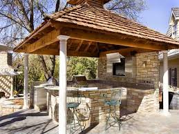 inspirations decorations outdoor kitchen on small backyard design