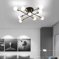 2021 new nordic living room ceiling