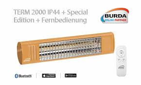 Sonderedition Term 2000 Ip44 Bluetooth Ral 1034 Badezimmer