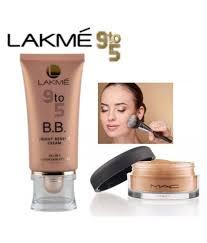 lakme 9 to 5 b b bright benifit cream loose powder face gm lakme 9 to 5