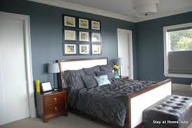 bedroom colors brown and blue. grey bedroom ideas modern beach kitchen style staging family room living wall gallery art white bench beige armchair bedding headboard ottoman seating blue colors brown and h