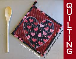 Quilted Pot Holder Tutorial - Totally Stitchin & 199 copy Adamdwight.com