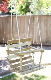 diy tree swing for baby