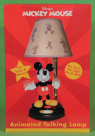 Mickey Mouse Chandelier Light Disney Mickey Mouse Animated Talking Lamp Turns Light On
