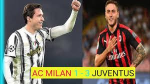 Milan 1 - 3 Juventus | Grande partita serie A - YouTube