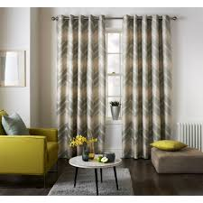 jeff banks home mexico grey wave pattern readymade eyelet curtains available now at