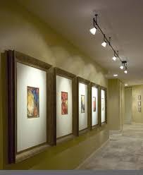 art gallery track lighting. amusing hallway track lighting 41 in lights for living room with art gallery o