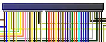 honda cb cbf four uk spec colour wiring loom diagram honda cb400 4 cb400f four uk colour wiring diagram