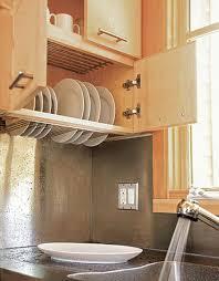 Modern Dish Drying Rack Cabinet