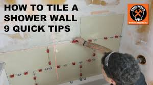 how to tile a shower wall 9 quick tips