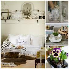 Farmhouse Living Room in the Spring | Sew a Fine Seam