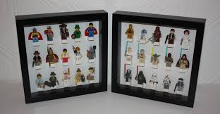 ribba lego minifigure display