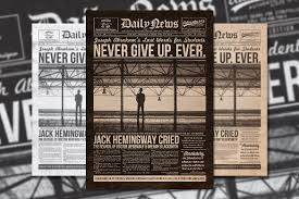 Newspaper Template For Photoshop 11 Vintage Newspaper Template Free Psd Eps Documents Download