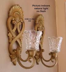 wall decor decorative accents home interior candle holders dayri me