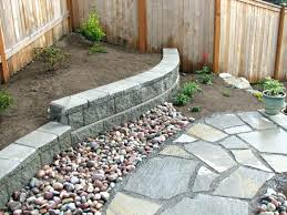 marvellous small retaining wall ideas festooning painting for garden wal small aining wall on slope ideas
