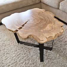 Live edge wood coffee table Large Round Live Edge Coffee Table Pinterest Round Live Edge Coffee Table Hyde Decorating Pinterest Live