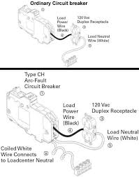 how to replace circuit breaker arc fault breaker