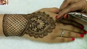 Indian Traditional Mehndi Design Hands Traditional Indian Bridal Mehndi Designs For Hands Easy Beautiful Dulhan Haath By Mehndiartistica